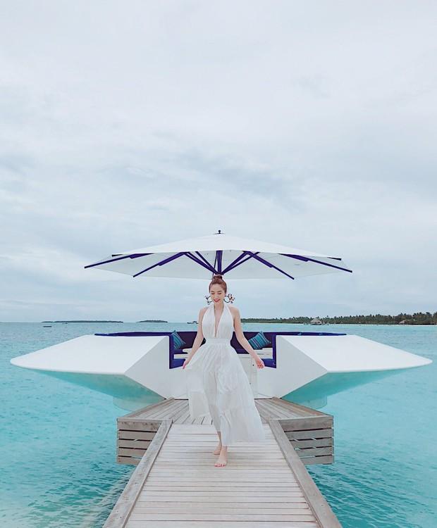 Giữa nghi vấn sắp lên xe hoa, Bảo Thy khoe body nóng bỏng trong loạt ảnh du lịch ở thiên đường Maldives - Ảnh 11.