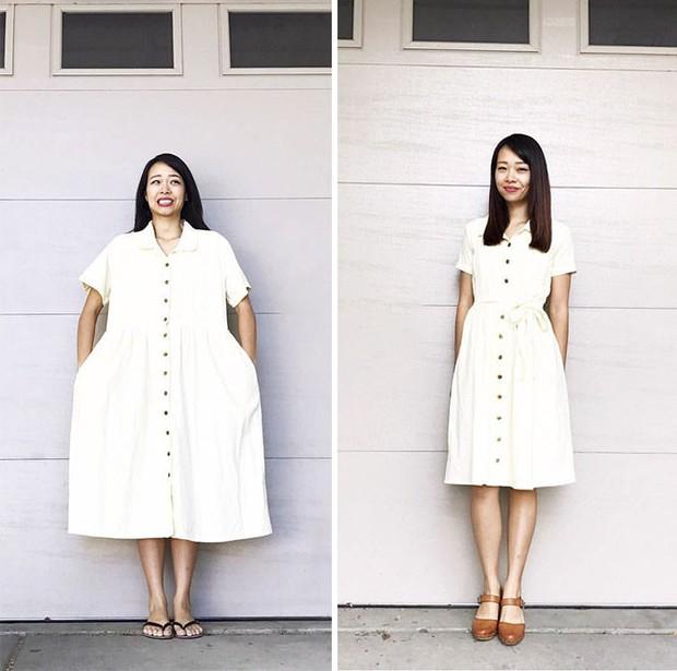 Bà mẹ 3 con có hàng trăm nghìn người hâm mộ nhờ biệt tài hô biến đồ cũ thành quần áo thời trang cho cả gia đình - Ảnh 14.
