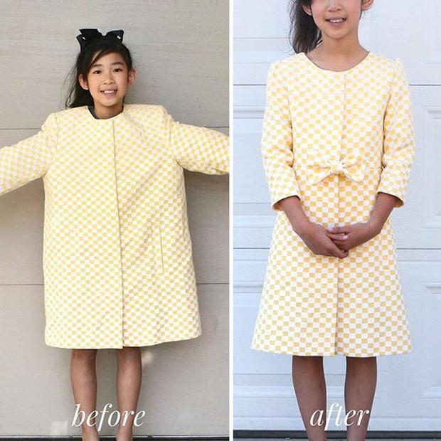 Bà mẹ 3 con có hàng trăm nghìn người hâm mộ nhờ biệt tài hô biến đồ cũ thành quần áo thời trang cho cả gia đình - Ảnh 5.