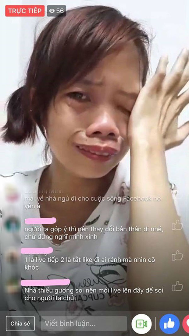 Bị miệt thị xấu xúc phạm người nhìn, mẹ đơn thân bán hàng online kiếm tiền nuôi con bật khóc nức nở ngay trên sóng livestream - Ảnh 2.