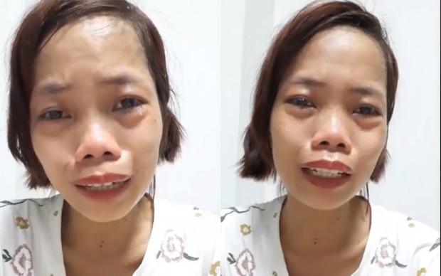 Bị miệt thị xấu xúc phạm người nhìn, mẹ đơn thân bán hàng online kiếm tiền nuôi con bật khóc nức nở ngay trên sóng livestream - Ảnh 5.