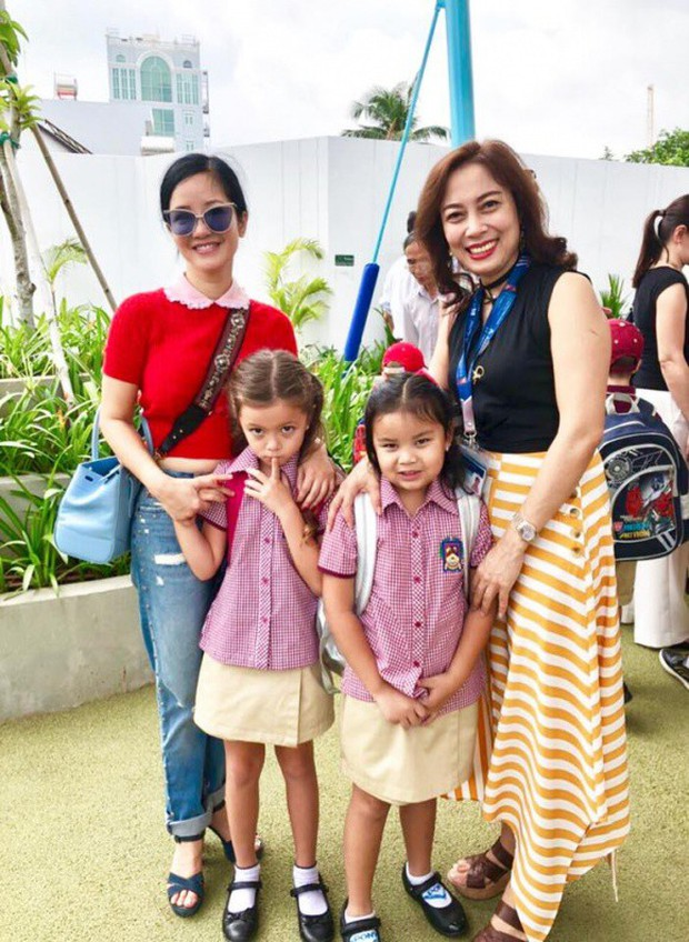 Phạm Quỳnh Anh và loạt sao Việt nô nức đưa con cưng đến trường ngày đầu năm học mới - Ảnh 3.