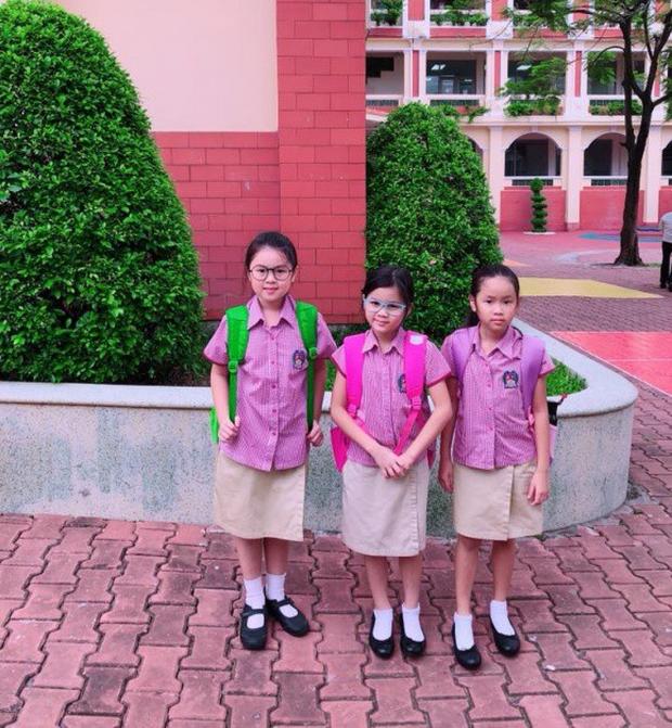 Phạm Quỳnh Anh và loạt sao Việt nô nức đưa con cưng đến trường ngày đầu năm học mới - Ảnh 8.