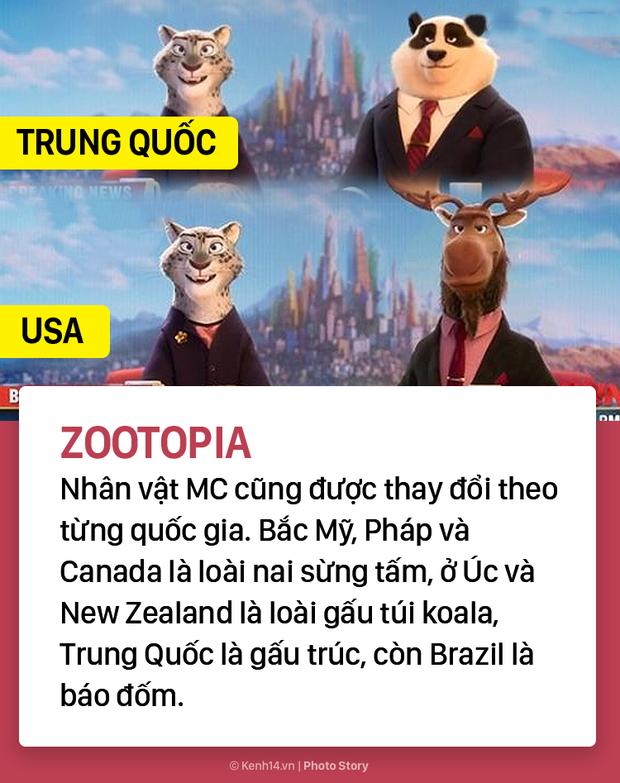 Cùng là 1 phim hoạt hình nhưng xem ở mỗi nước lại có sự khác nhau đầy tinh tế - Ảnh 7.