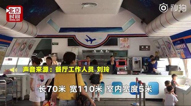 Đại gia Trung Quốc bỏ 30 tỷ đồng để mua nguyên cái máy bay rồi biến thành nhà hàng, thực hiện giấc mơ từ thuở bé - Ảnh 3.