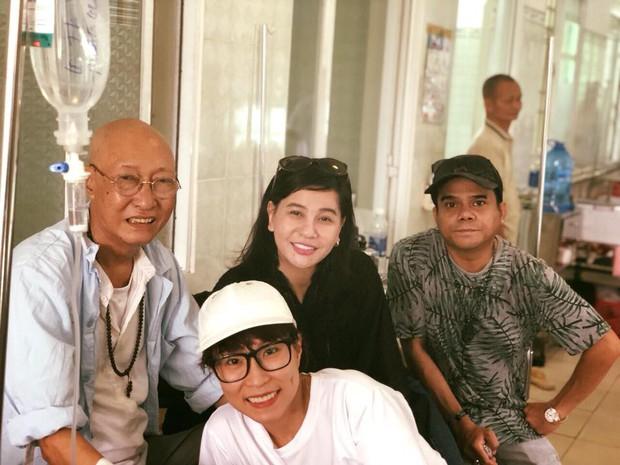 Cát Phượng vào bệnh viện trao cho Mai Phương 300 triệu, thăm hỏi sức khoẻ diễn viên Lê Bình - Ảnh 2.
