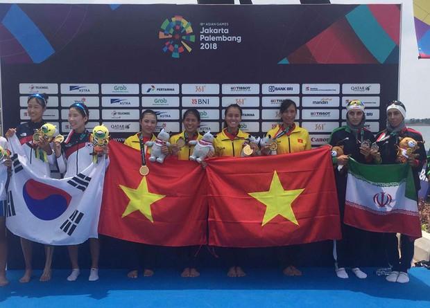 Việt Nam giành HC vàng đầu tiên tại ASIAD 2018 - Ảnh 1.