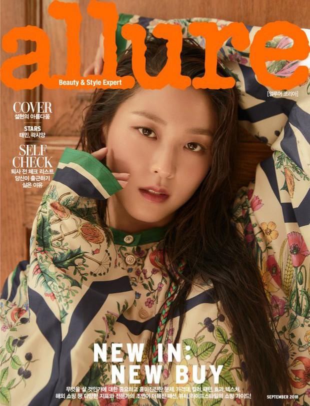 4 mỹ nhân hạng A đọ sắc trên tạp chí: Khó chọn giữa Kim Ji Won và Park Min Young, bạn gái G-Dragon sexy bùng nổ - Ảnh 10.