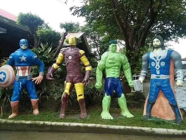 Các siêu anh hùng của DC và Marvel tề tựu trong công viên có tính giải trí cao nhất mọi thời đại - Ảnh 9.