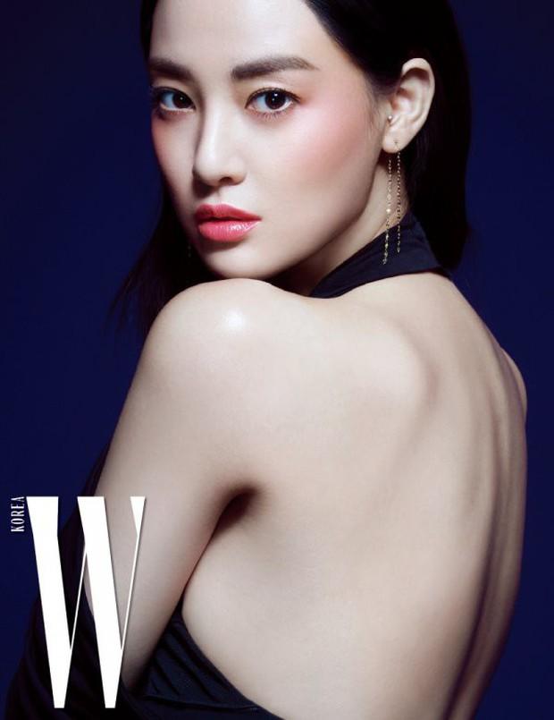 4 mỹ nhân hạng A đọ sắc trên tạp chí: Khó chọn giữa Kim Ji Won và Park Min Young, bạn gái G-Dragon sexy bùng nổ - Ảnh 5.