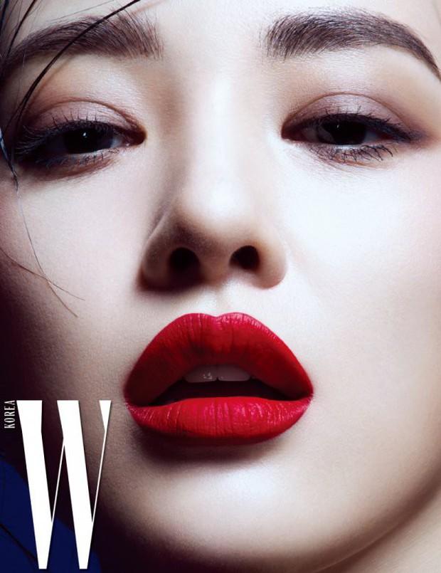 4 mỹ nhân hạng A đọ sắc trên tạp chí: Khó chọn giữa Kim Ji Won và Park Min Young, bạn gái G-Dragon sexy bùng nổ - Ảnh 6.