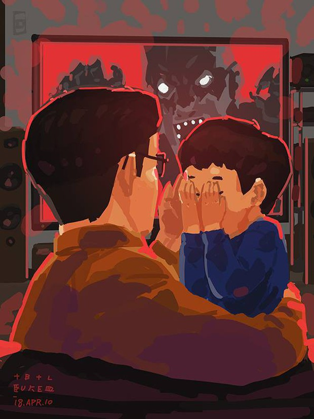 Bộ tranh cha và con trai đầy cảm xúc mà bất cứ ông bố trẻ nào cũng thấy mình trong đó - Ảnh 30.