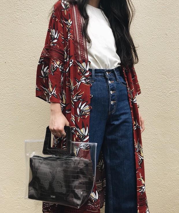 Chiếc áo khoác dáng dài lượt thượt này đích thực là món đồ cực đáng sắm cho tủ đồ mùa thu năm nay - Ảnh 8.