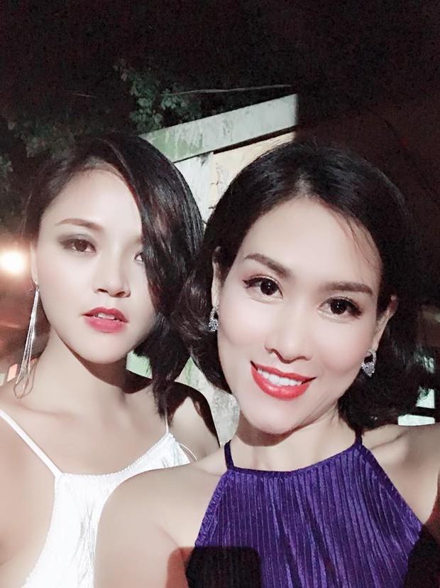 Chị Nguyệt bầu trời check-in cùng dàn diễn viên Quỳnh Búp Bê, fan nghi vấn vào vai đối thủ của Lan má mì - Ảnh 3.