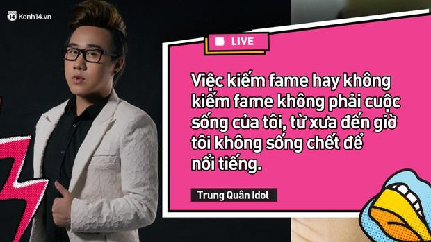 Sao Vs Antifan: Phản ứng không ngờ của Trung Quân Idol khi bị nói nghệ sĩ chỉ biết sân si, nên đi chuyển giới để đẹp như Hương Giang - Ảnh 5.