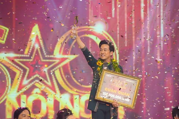 Ca sĩ Triệu Lộc ẵm 150 triệu đồng khi lên ngôi Quán quân Sao nối ngôi mùa 3 - Ảnh 1.