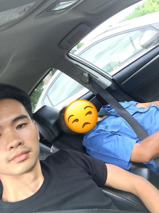 Góc hồn nhiên: Tài xế taxi nhờ hành khách lái xe hộ rồi lăn ra ngủ, đến nơi vẫn được trả tiền không thiếu một xu - Ảnh 5.