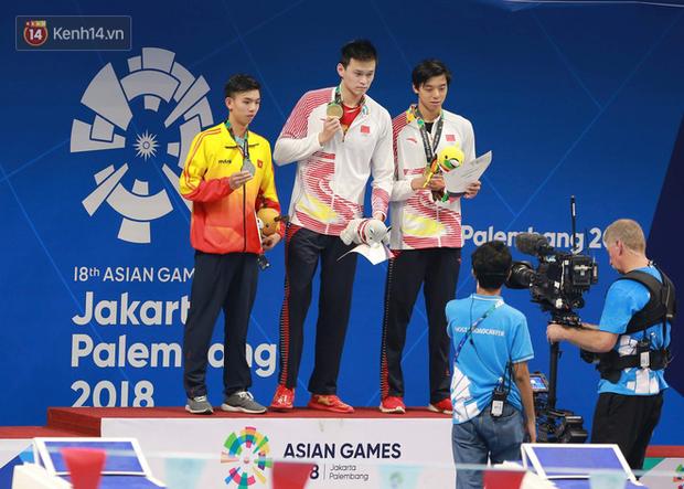 Thua đối thủ Trung Quốc, Huy Hoàng giành HC bạc cho bơi Việt Nam ở ASIAD 2018 - Ảnh 2.