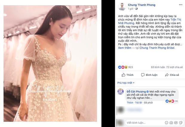 Ảnh Nhã Phương mặc váy cưới, nhưng Cát Phượng - Kiều Minh Tuấn lại là cặp đôi gây chú ý! - Ảnh 1.