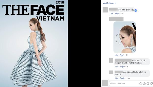 The Face tung poster quảng bá: Minh Hằng lại gây tranh cãi, lỗi photoshop bị lộ - Ảnh 9.