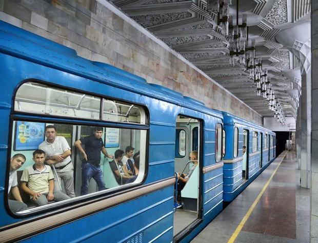 Ảnh: Khám phá ga tàu điện ngầm chống bom hạt nhân bí mật ở Uzbekistan - Ảnh 12.