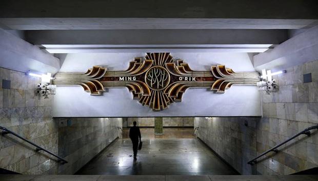 Ảnh: Khám phá ga tàu điện ngầm chống bom hạt nhân bí mật ở Uzbekistan - Ảnh 16.
