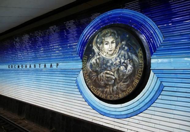 Ảnh: Khám phá ga tàu điện ngầm chống bom hạt nhân bí mật ở Uzbekistan - Ảnh 4.