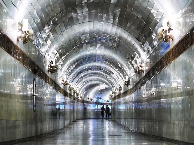 Ảnh: Khám phá ga tàu điện ngầm chống bom hạt nhân bí mật ở Uzbekistan - Ảnh 7.