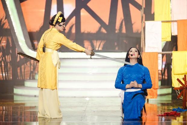 Á hậu Hà Thu, Anh Tú dừng chân trước Chung kết Gương mặt thân quen trong tiếc nuối - Ảnh 10.