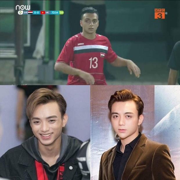 Phát hiện hai cầu thủ Syria có ngoại hình như anh em sinh đôi với Soobin Hoàng Sơn và Ngô Kiến Huy - Ảnh 1.
