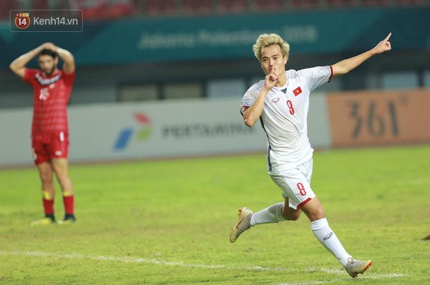 Văn Toàn ghi bàn thắng vàng, Olympic Việt Nam hiên ngang vào bán kết ASIAD 2018 - Ảnh 3.