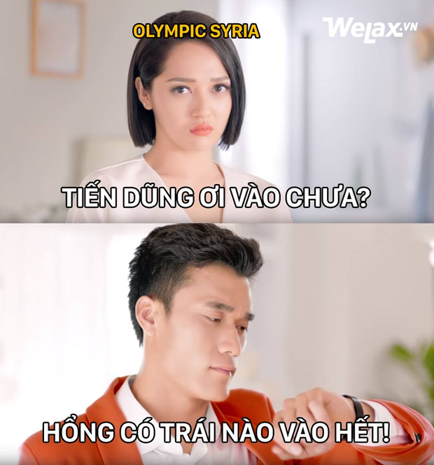Ảnh chế: 120 phút xem Olympic Việt Nam đá tứ kết, người dân đi từ nín thở đến vỡ oà như thế này đây - Ảnh 4.