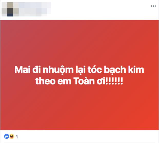 Việt Nam chiến thắng lịch sử, màu tóc bạch kim của Văn Toàn chắc chắn là màu tóc hot nhất 2018! - Ảnh 3.
