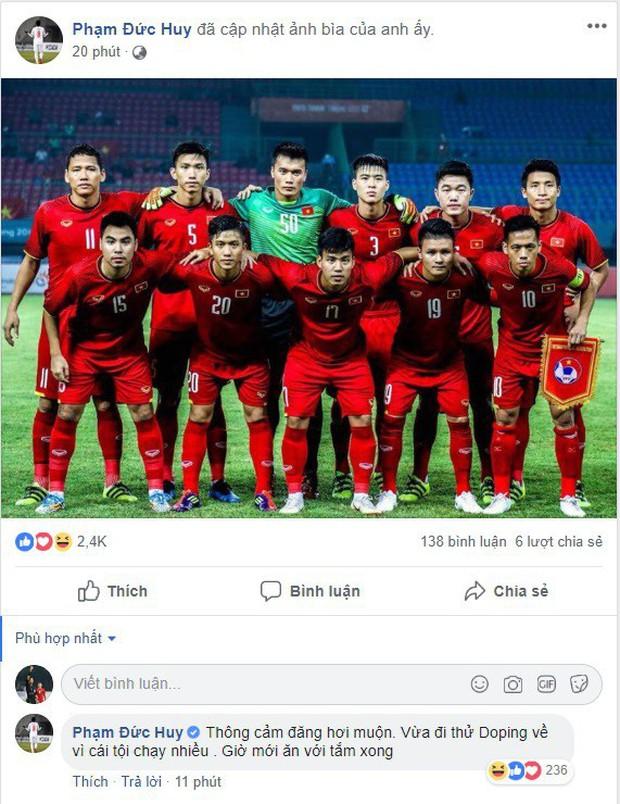 Văn Toàn, Công Phượng... mừng chiến thắng tưng bừng trên facebook - Ảnh 9.