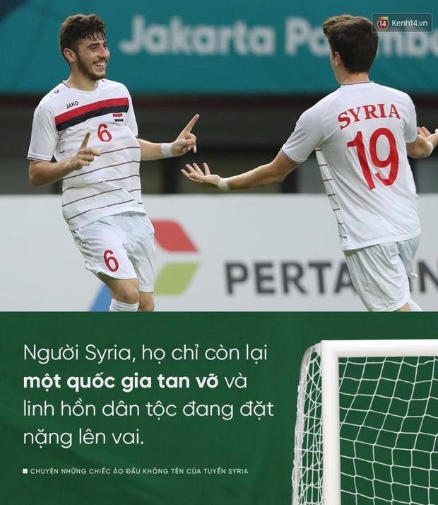 Chuyện những chiếc áo đấu không tên của tuyển Syria: Giấc mơ bóng đá từ nơi còn chẳng hề có sân vận động - Ảnh 2.
