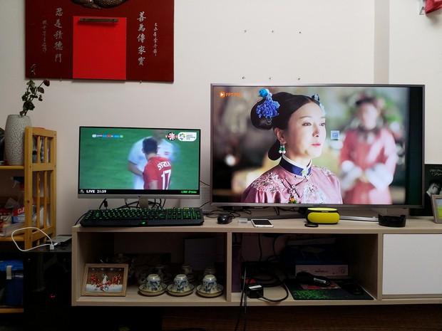 Khi chồng cổ vũ cho Olympic Việt Nam, vợ lại là fan Diên Hi Công Lược - Ảnh 2.