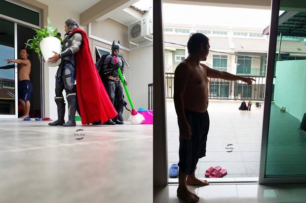 Anh chàng bắt cả Ironman, Ant-man dọn nhà cho mình chỉ với 1 mẹo chụp ảnh - Ảnh 5.