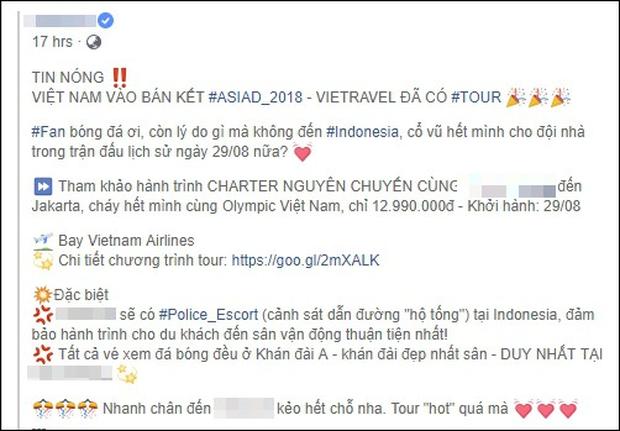 Bùng nổ tour du lịch sang Indonesia trực tiếp cổ vũ cho Olympic Việt Nam đá trận bán kết với Hàn Quốc - Ảnh 4.