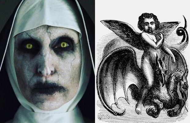 Rùng mình với 8 bí mật hậu trường The Nun: Phim trường chị Valak chào đón từ dơi đến ma ghé thăm  - Ảnh 3.