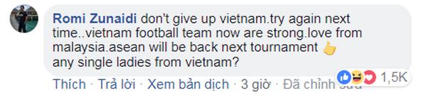 Đừng khóc Việt Nam, các bạn là niềm tự hào của Đông Nam Á - Ảnh 3.