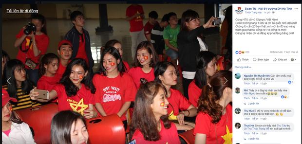 Hàng loạt trường Đại học cho sinh viên nghỉ học, lập đàn cầu nắng để cổ vũ đội tuyển Việt Nam - Ảnh 2.