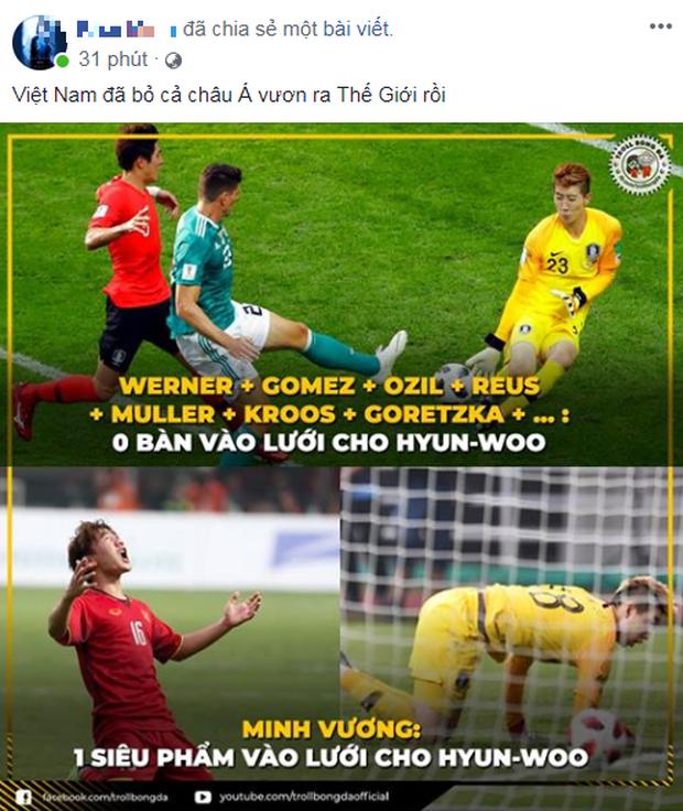 Người hâm mộ Việt Nam an ủi thầy trò HLV Park Hang Seo trận thua Hàn Quốc - Ảnh 3.