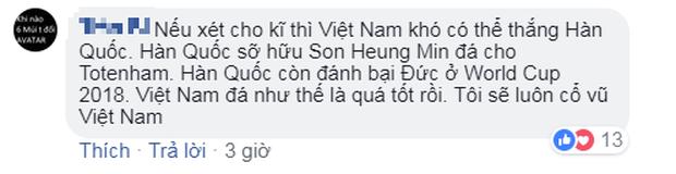 Người hâm mộ Việt Nam an ủi thầy trò HLV Park Hang Seo trận thua Hàn Quốc - Ảnh 6.