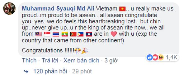 Đừng khóc Việt Nam, các bạn là niềm tự hào của Đông Nam Á - Ảnh 4.