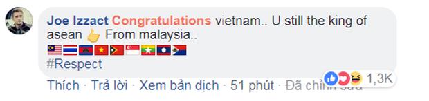 Đừng khóc Việt Nam, các bạn là niềm tự hào của Đông Nam Á - Ảnh 5.