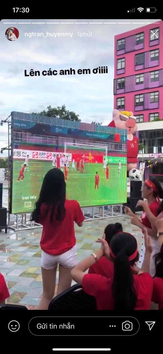 Thanh Tú bật khóc, Mỹ Linh và các thí sinh Hoa hậu Việt Nam 2018 vỡ oà trước cú ghi bàn tuyệt đẹp của Minh Vương - Ảnh 2.