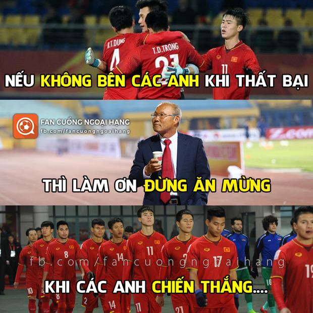 Người hâm mộ Việt Nam an ủi thầy trò HLV Park Hang Seo trận thua Hàn Quốc - Ảnh 9.