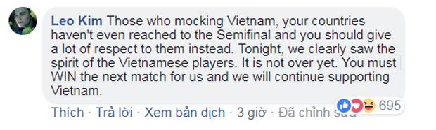Đừng khóc Việt Nam, các bạn là niềm tự hào của Đông Nam Á - Ảnh 7.