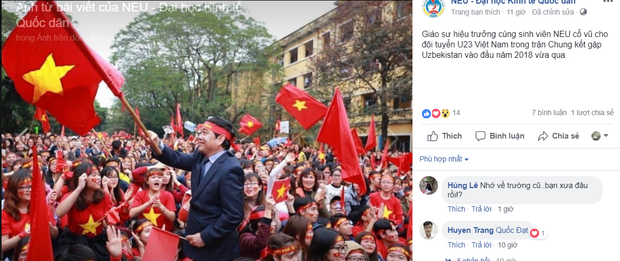 Hàng loạt trường Đại học cho sinh viên nghỉ học, lập đàn cầu nắng để cổ vũ đội tuyển Việt Nam - Ảnh 8.
