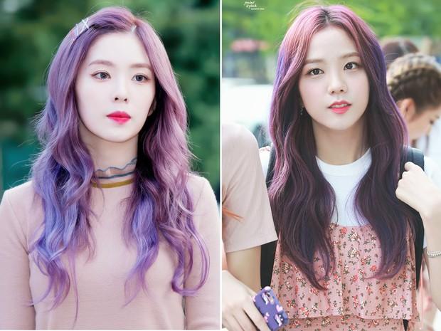 Bàn cân visual giữa Irene (Red Velvet) và Jisoo (Black Pink): makeup và làm tóc giống hệt, nhưng ai hơn ai? - Ảnh 4.